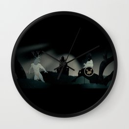 The Surrealist Wall Clock