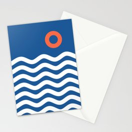 Nautical 03 Seascape Stationery Cards