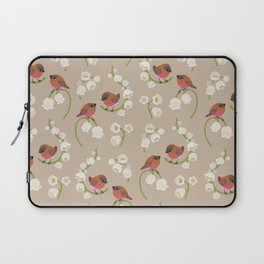 Brown-capped rosy finch Laptop Sleeve