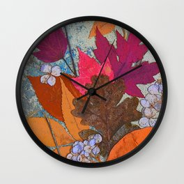 Leaves of Fancy Wall Clock