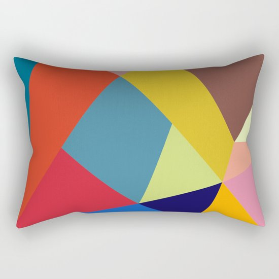 Abstract #277 Rectangular Pillow