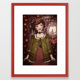 Birdsong and Knickers Framed Art Print