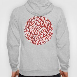 Red Coral Hoody