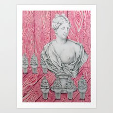 Venus and the Woodgrains Art Print