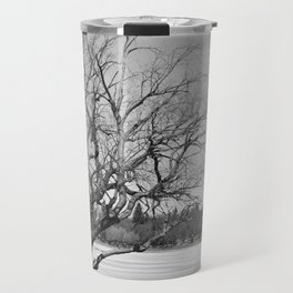 By The Frozen Pond Travel Mug