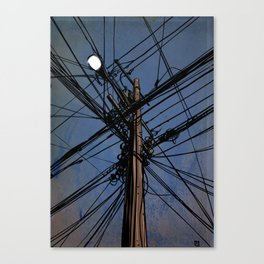 wires 02 Canvas Print