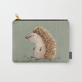 Hedgie Has a Sit Down Carry-All Pouch