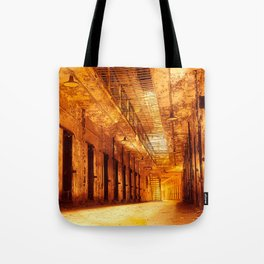 Infernal Prison Corridor Tote Bag