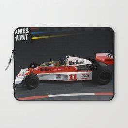 James Hunt McLaren F1    Car   Automotive   Formula One Laptop Sleeve
