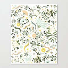 Spring at the Farmhouse Canvas Print