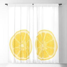 Lemon Blackout Curtain