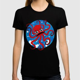 Moustache Octopus T-shirt