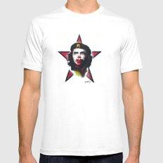 Mc Che Guevara, Eusebio Guerra, 2011 Mens Fitted Tee White MEDIUM