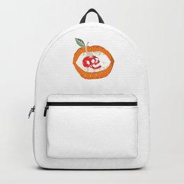 Cherry Lip Freaky Skull Halloween Lip Girl Gift Backpack