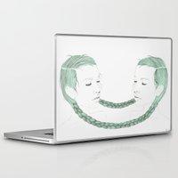 gemini Laptop & iPad Skins featuring Gemini by Chrysta Kay