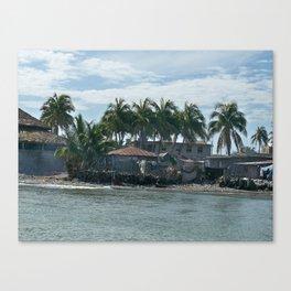 The Haitian Shore Canvas Print
