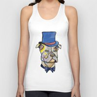 pitbull Tank Tops featuring Fancy Pitbull by Animal Camp