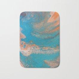 Sunset Blue Bath Mat