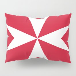 Maltese Cross Flag Pillow Sham