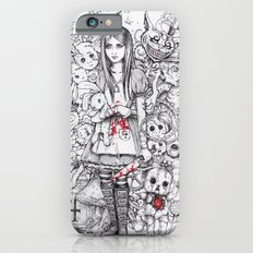 wonderland shattered iPhone 6 Slim Case
