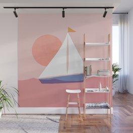 Abstraction_Sailing_Ocean Wall Mural