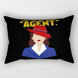 Agent Rectangular Pillow