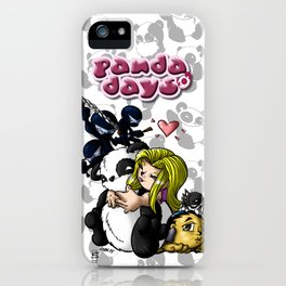 Panda Days Collection Cover Piece iPhone Case