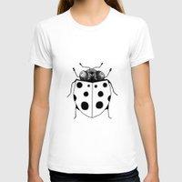 ladybug T-shirts featuring Ladybug by Brittany Rae