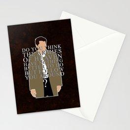 Supernatural - Castiel Stationery Cards