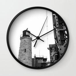 Bridge and House of Light Wall Clock