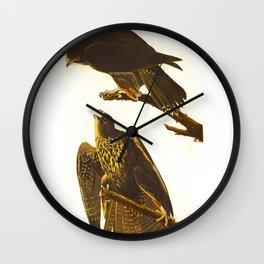 Labrador Falcon Wall Clock