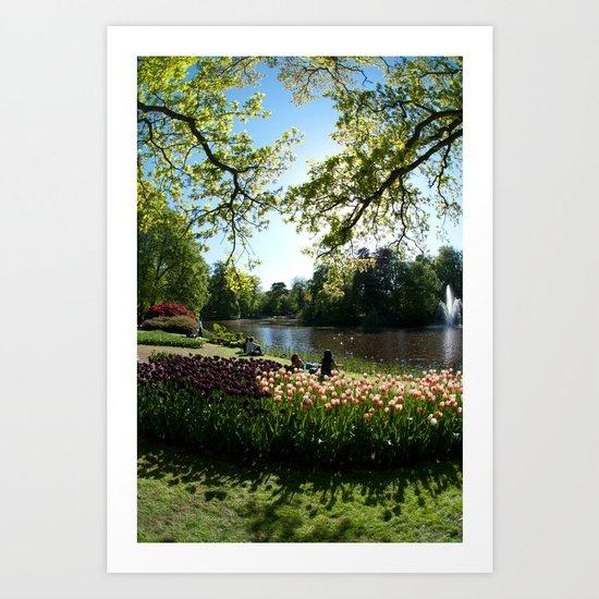 Keukenhof, Netherlands Art Print