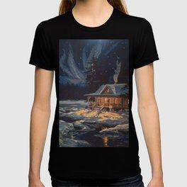 Blue Aurora Nights T-shirt