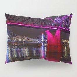 Three Bridges Over the Ohio Pillow Sham