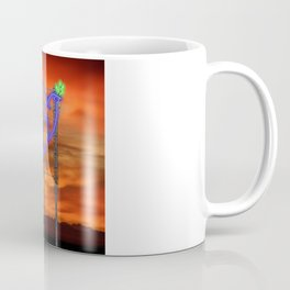 Peace Pigeon Stand - The Copy is a Hommage Coffee Mug