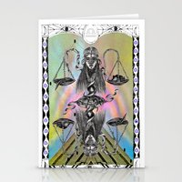 libra Stationery Cards featuring LIBRA by Caroline Vitelli GOODIES