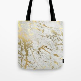 Gold marble Tote Bag