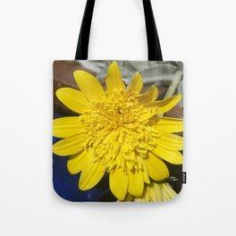 Yellow Gazanias Tote Bag