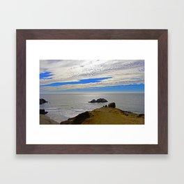Skies Framed Art Print