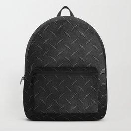 Rustic Metal Diamond Plate Backpack