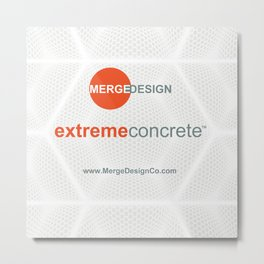 extremeconcrete tm Metal Print