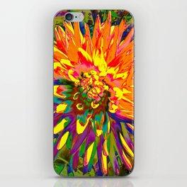 Extreme Dahlia iPhone Skin