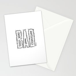 BAD by Sketches Stationery Cards