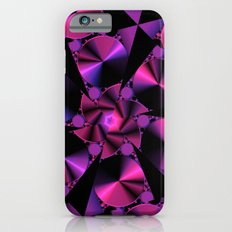 Abstract 344 a berry and black kaleidoscope Slim Case iPhone 6s