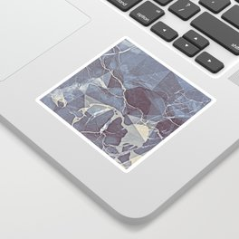 Geometric Marble Sticker