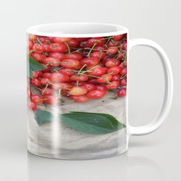 Spilled Cherries Coffee Mug