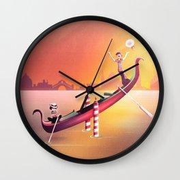 Venice Seesaw Wall Clock