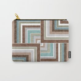 3 marble combination patchwork Carry-All Pouch