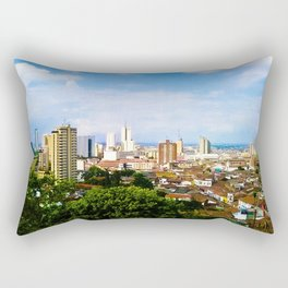 View Cali Valle del Cauca. Rectangular Pillow