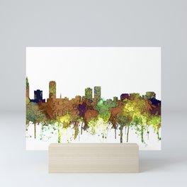 Baton Rouge, Louisiana Skyline - SG - Safari Buff Mini Art Print
